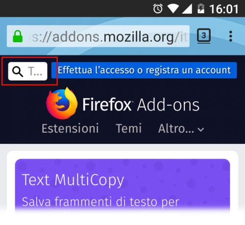 cerca android